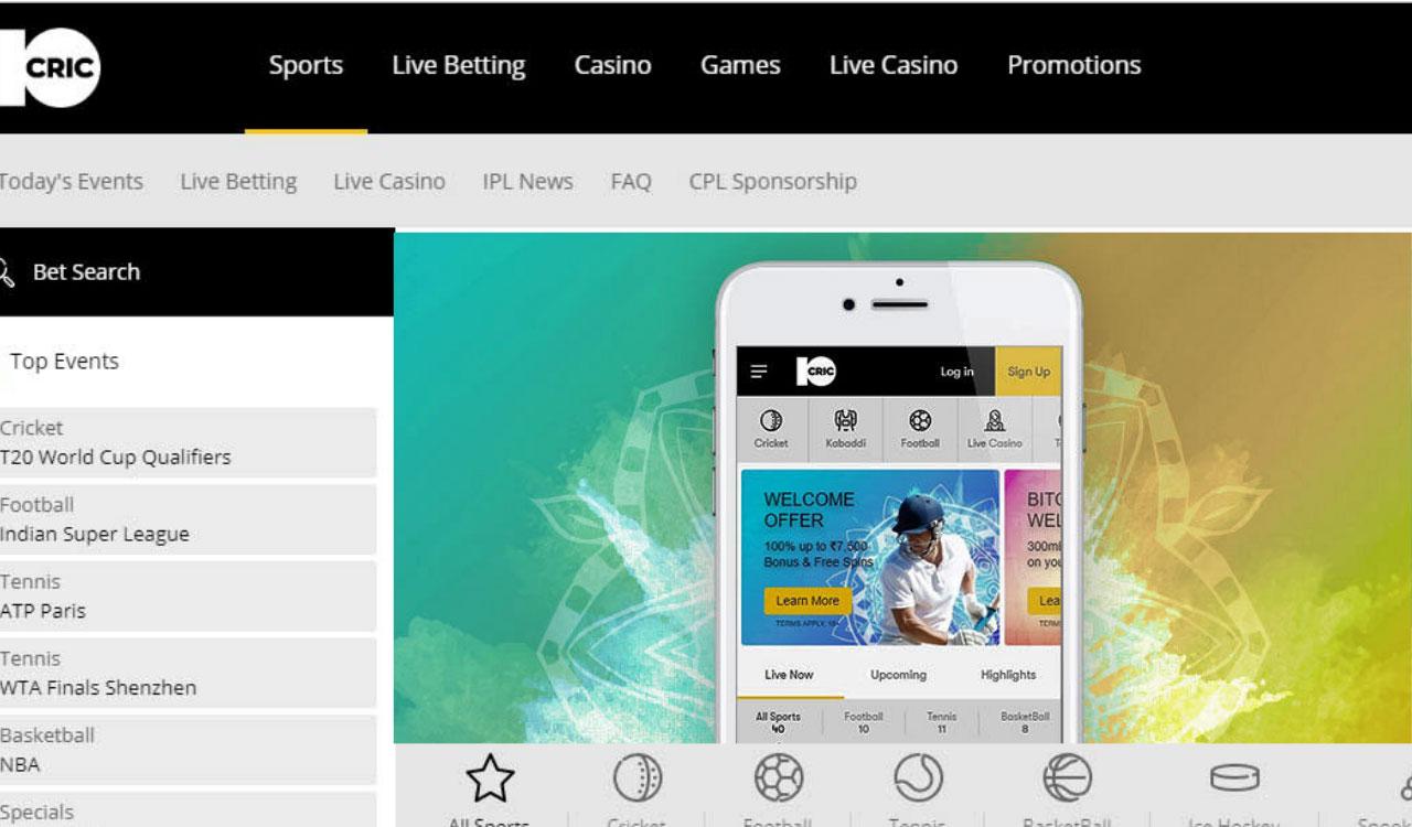 10Cric Betting Website