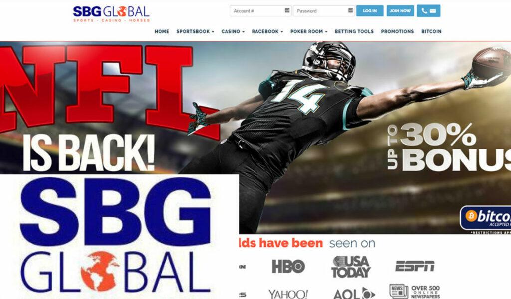 SBG Global best online sportsbook